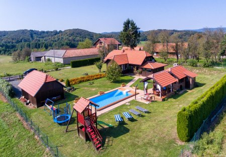 Villa in Perna, Croatia