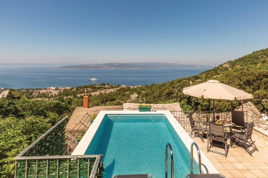 Villa in Croatia, Baška Voda: OLYMPUS DIGITAL CAMERA