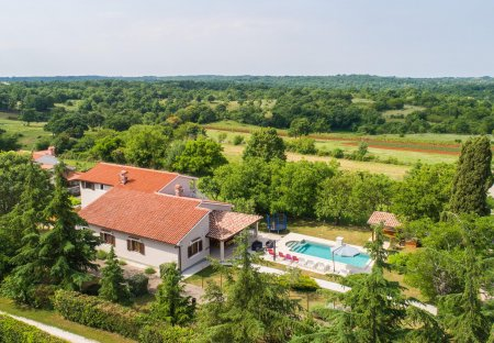 Villa in Orihi, Croatia