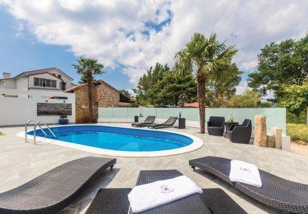 Villa in Brzac, Croatia
