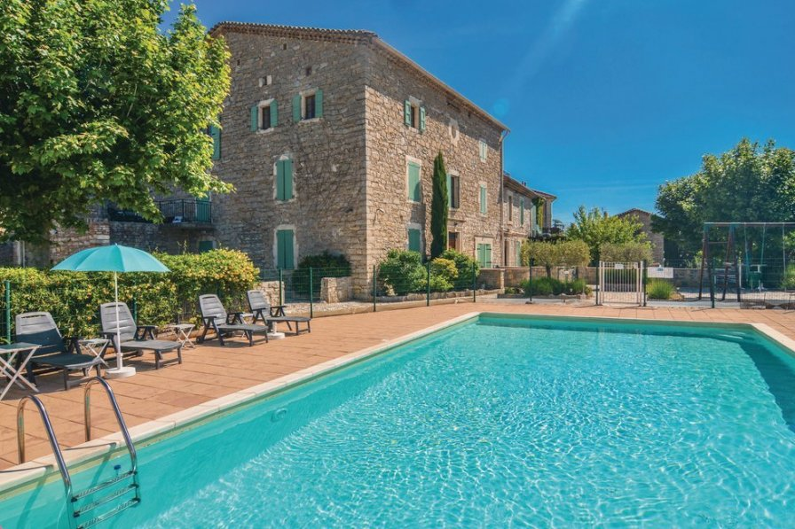 Holiday apartment in Gard with pool