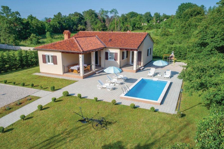 Villa in Croatia, Topid