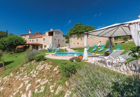 Villa in Zajci, Croatia