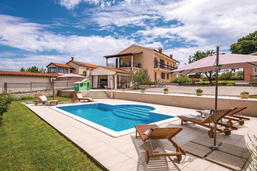 Villa in Croatia, Hrboki