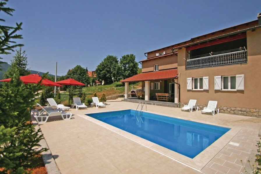 Villa in Croatia, Crni Kal