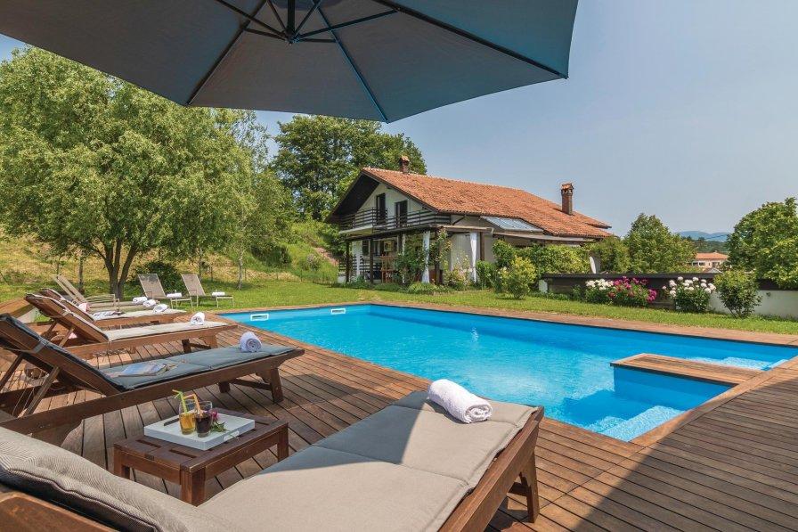 Villa To Rent In Cerovlje Croatia With Swimming Pool 207834