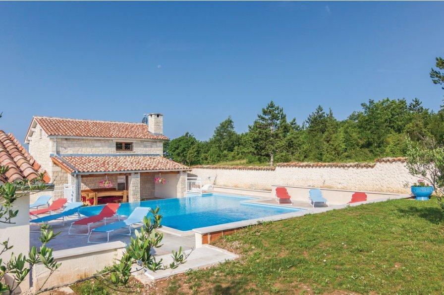 Villa in Croatia, Zabrežani