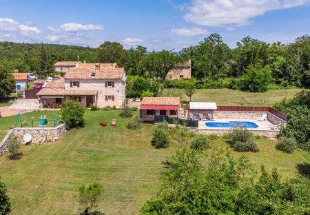 Villa in Marceljani, Croatia