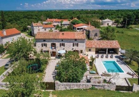 Villa in Juršići, Croatia