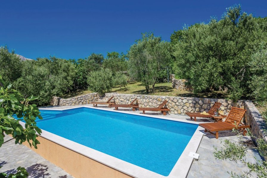 Villa in Croatia, Draga Bašćanska