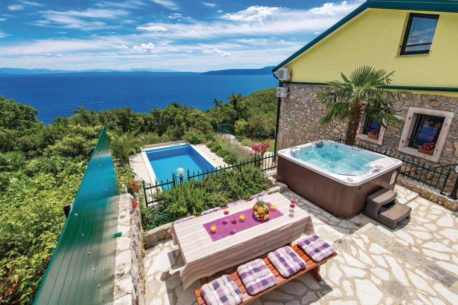 Villa To Rent In Medveja Croatia With Swimming Pool 208485