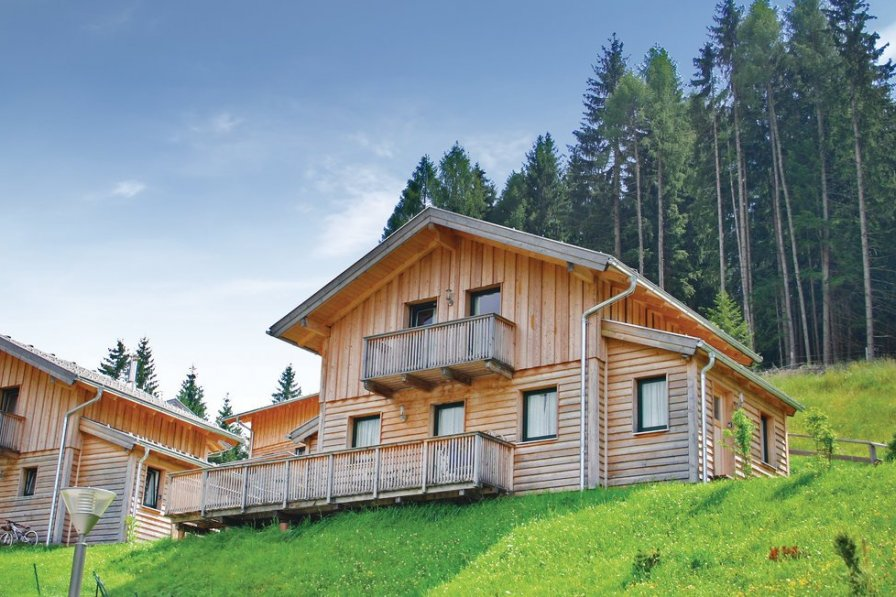 Chalet with shared pool in Annaberg