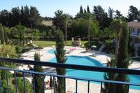 Apartment in Cyprus, Universal: View of pool from balcony