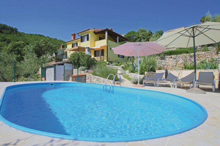 Villa in Croatia, Rabac