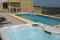 Villa in Spain, Denia: Pool and Jacuzzi area
