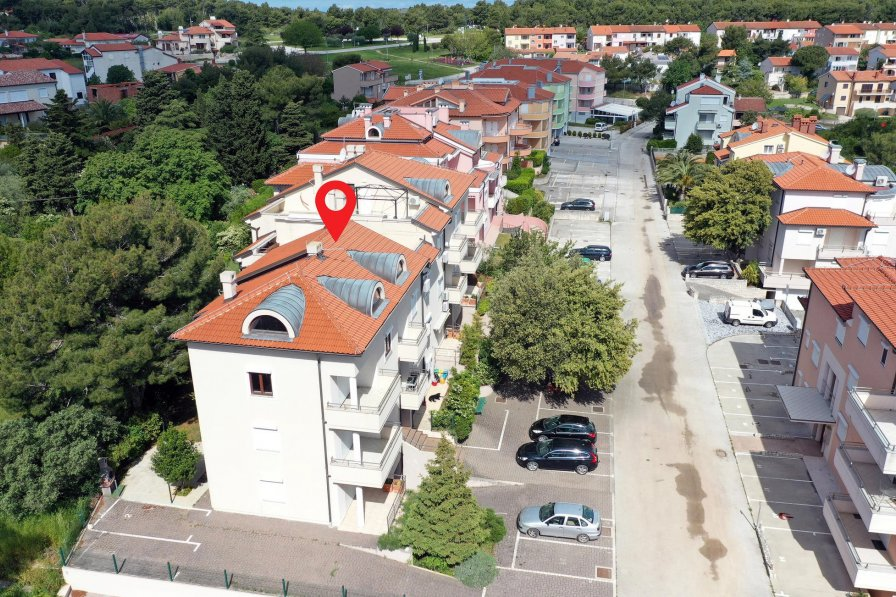 Studio apartment in Croatia, Premantura