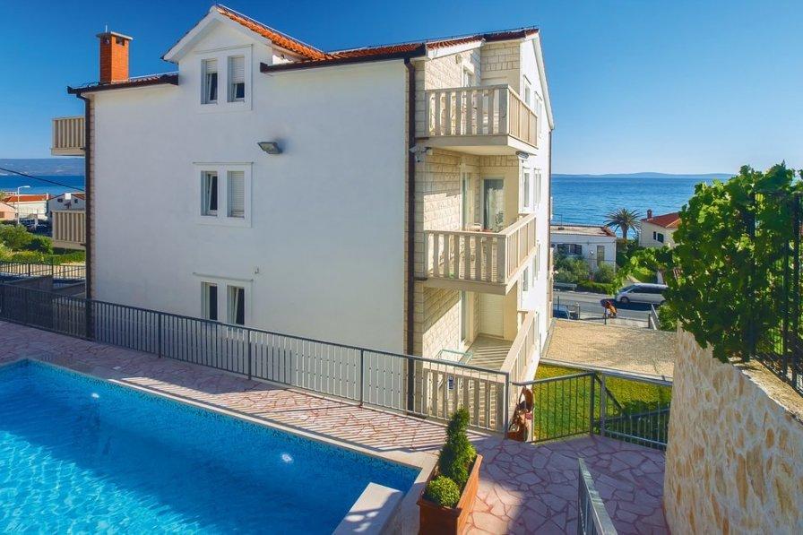 Studio apartment in Croatia, Podstrana: OLYMPUS DIGITAL CAMERA