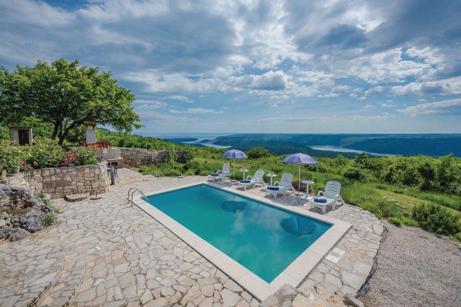 Villa in Croatia, Gora Glušići