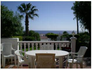 Villa in Spain, Golf del Sur: Lovely Sea views from terrace