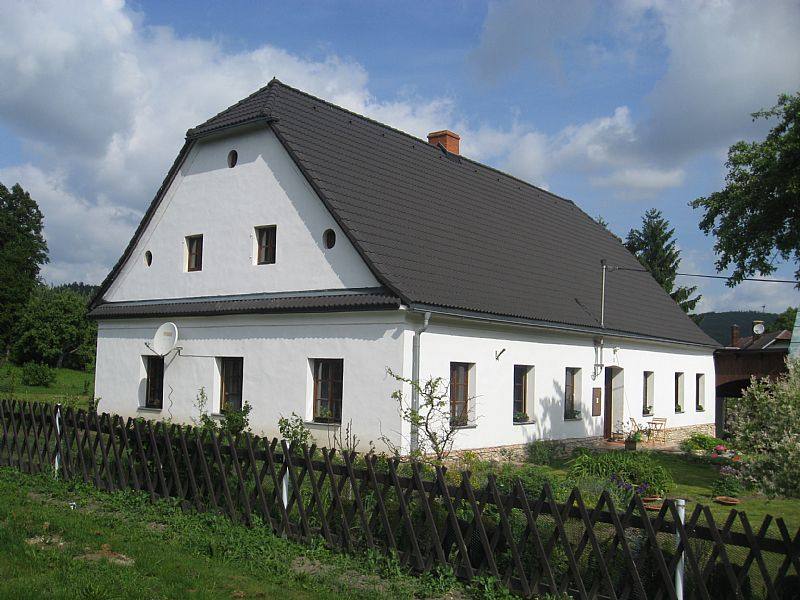 Country house in Czech Republic, Moravian-Silesian Region: House from the outside