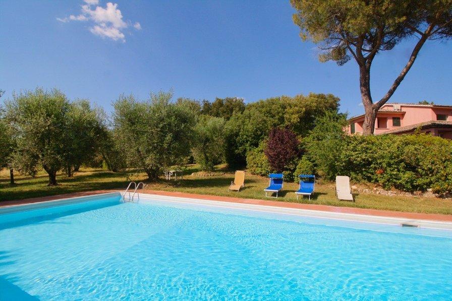 Villa in Italy, Casone (Sienna)