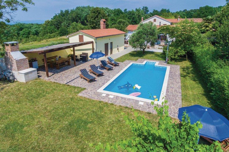 Villa in Croatia, Ružići (Sveta Nedelja)