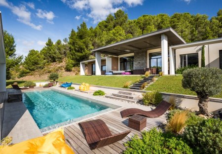 Villa in Vingrau, the South of France