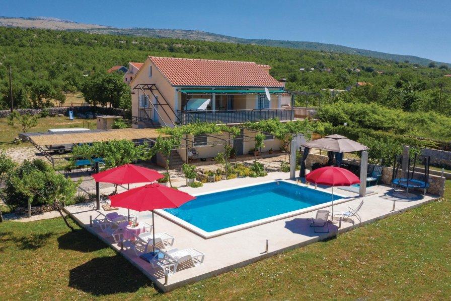 Villa in Croatia, Velika Milešina