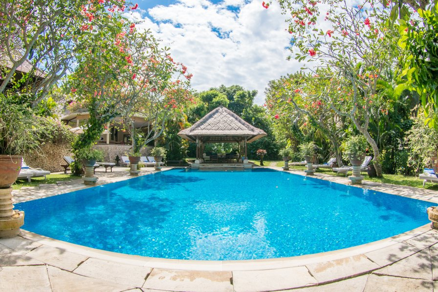 Villa Waru. The Royal Garden Retreat