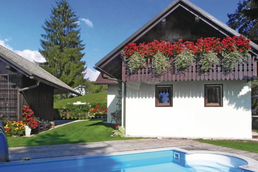 Holiday villa in Vrhovje with swimming pool