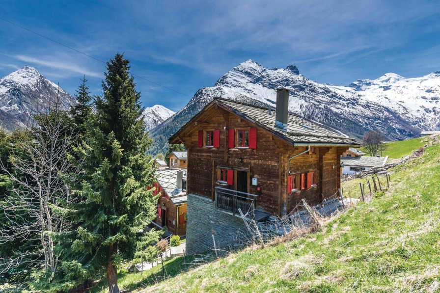 Villa in Switzerland, Saas-Fee