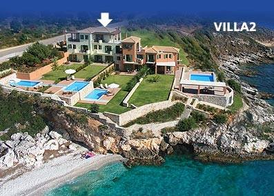 Villa in Greece, Skala: Villa Brio complex