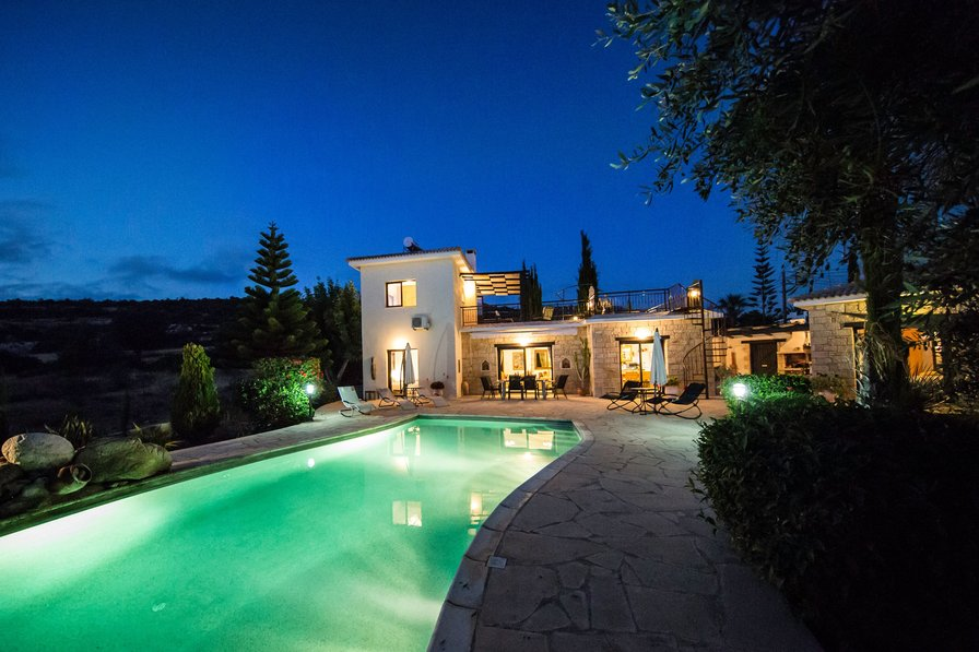 Villa To Rent In Peyia Cyprus With Private Pool 218306