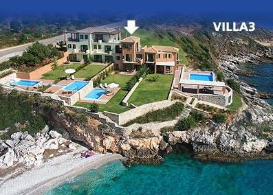 Villa in Greece, Skala: Villa Brio complex