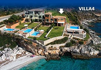 Villa in Greece, Skala: Villa 4 consists of House and Waterfront Suite