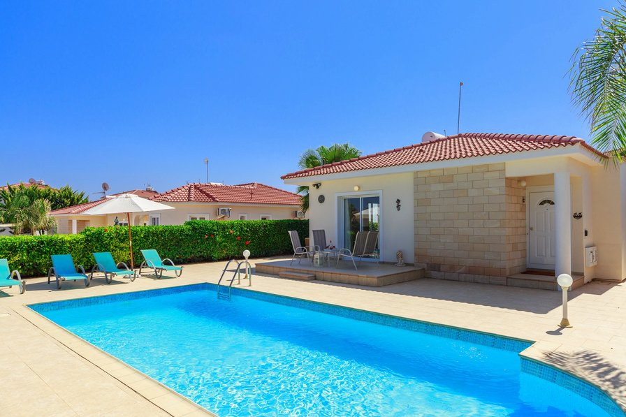 Villa To Rent In Ayia Thekla Cyprus With Private Pool