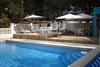 Villa in Spain, Xativa: pool area ready for a relaxing afternoon