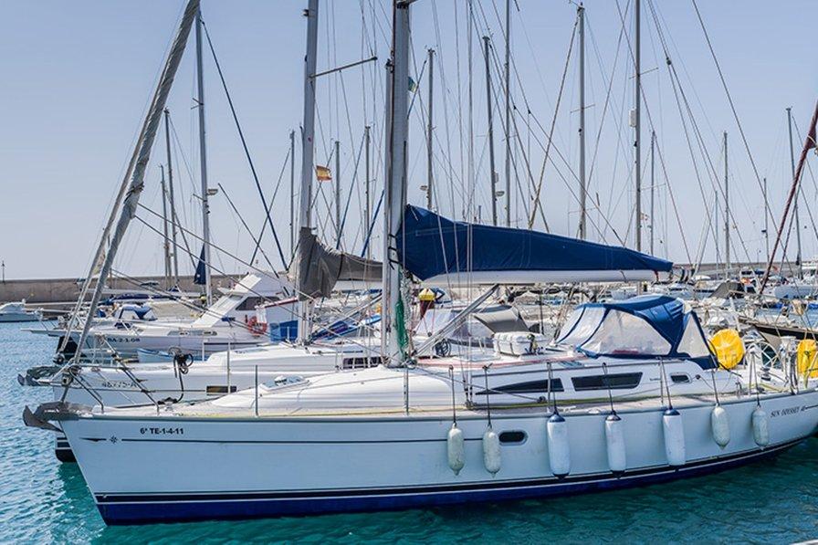 Boat in Spain, San Sebastián de la Gomera