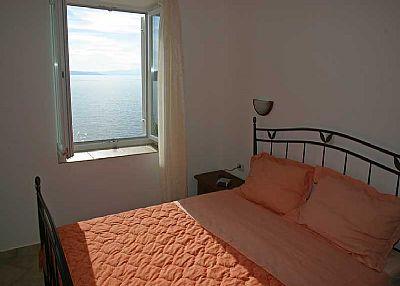 Apartment in Croatia, Kraljevica: bedroom