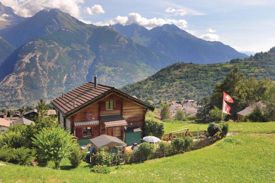 Apartment in Switzerland, Unterbäch