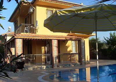 Villa in Turkey, Calis Beach: Pool 8m x 4m