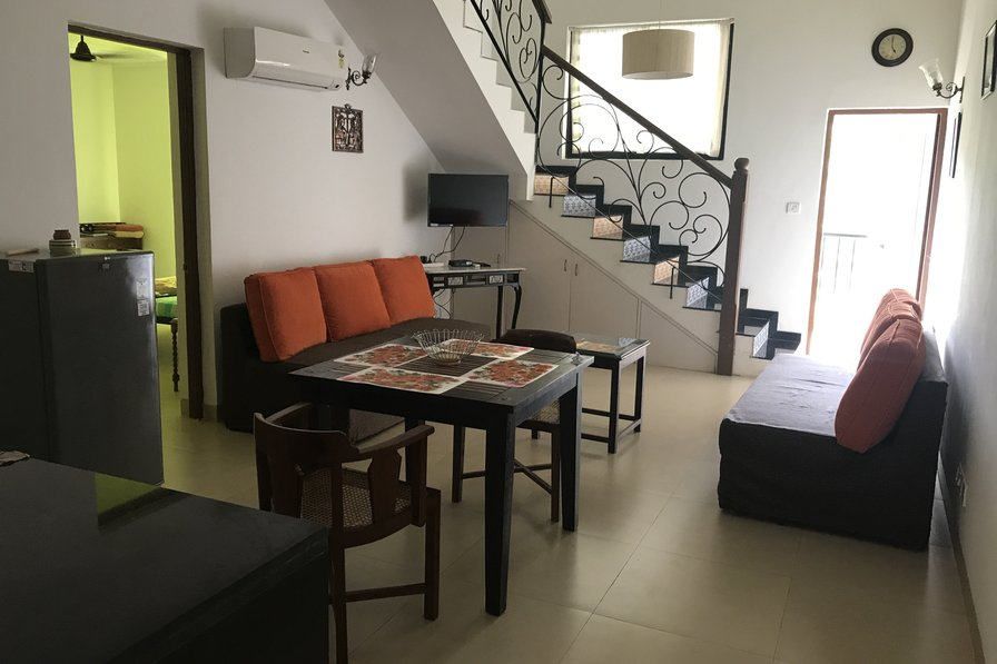 Modern and Beautiful Apartment in Riviera sapphire, Siolim 1102