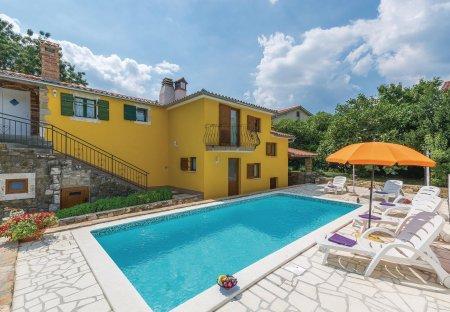 Villa in Purgarija Čepić, Croatia