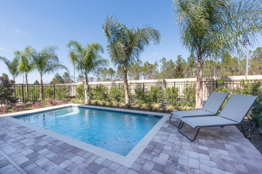 Villa To Rent In Kissimmee Florida With Private Pool 221272