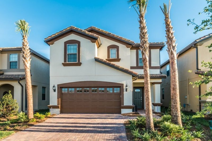 Villa To Rent In Kissimmee Florida With Private Pool 221556