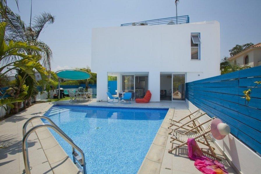 "Protaras Holidays Villa Konnos Princess "" Amazing Pool and Deck"""
