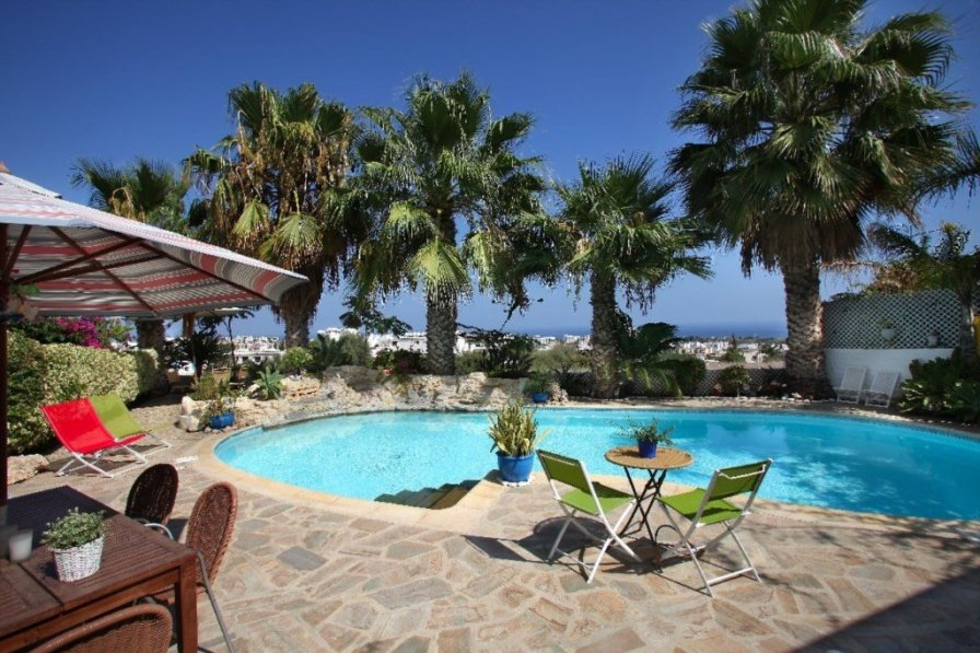 """Ayios Elias Hilltop """"Large Pool with Majestic Sea Views"""""""
