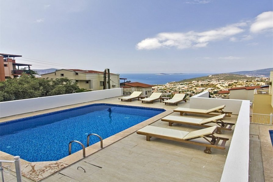 Kalkan holiday villa rental with private pool