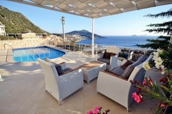 """Villa Teoman """"4 Bedroom Villa with Breathtaking Sea Views"""""""