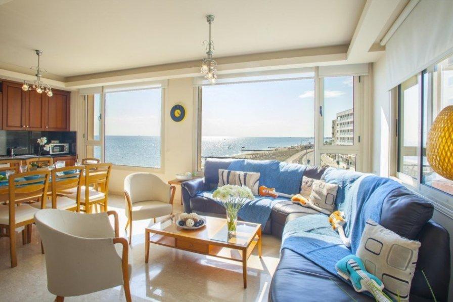 Larnaca Beachfront Holiday Apartment
